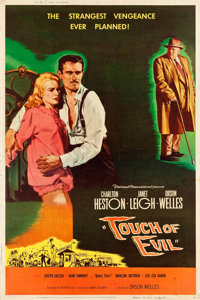 """Touch of Evil (Universal International, 1958). Poster (40"""" X 60"""") Style Z"""