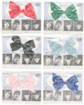 Music Memorabilia:Memorabilia, Beatles Hair Bows (Set of Six) in Original Packages by Burlington(NEMS, 1964). ... (Total: 6 Items)
