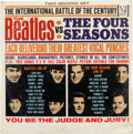 Music Memorabilia:Recordings, The Beatles vs. The Four Seasons Still Sealed Mono LP(Vee-Jay DX 30, 1964)....