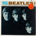 Music Memorabilia:Recordings, Meet The Beatles Still Sealed Mono LP (Capitol 2047,1964)....