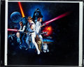 "Movie Posters:Science Fiction, Star Wars (20th Century Fox, 1977). Color Transparency (8"" X 10"")Style C.. ..."