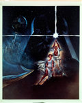 "Movie Posters:Science Fiction, Star Wars (20th Century Fox, 1977). Color Transparency (8"" X 10"")Style A.. ..."