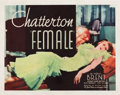 "Movie Posters:Comedy, Female (First National, 1933). Half Sheet (22"" X 28"").. ..."