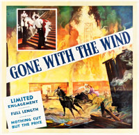 "Gone with the Wind (MGM, 1940). Six Sheet (78.5"" X 81.25"")"
