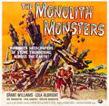 "Movie Posters:Science Fiction, The Monolith Monsters (Universal International, 1957). Six Sheet(79"" X 81"").. ..."