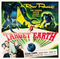 "Movie Posters:Science Fiction, Target Earth (Allied Artists, 1954). Six Sheet (79.5"" X 80.75"")....."
