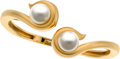 Estate Jewelry:Bracelets, South Sea Cultured Pearl, Gold Bracelet, Angela Cummings. ...