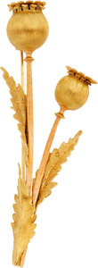 Estate Jewelry:Brooches - Pins, Gold Brooch, M. Buccellati. ...