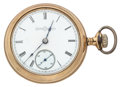 Timepieces:Pocket (post 1900), Illinois 18 Size Open Face Pocket Watch. ...