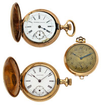 Two Lady's Pocket Watches & One Pendant