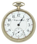 Timepieces:Pocket (post 1900), Rockford 17 Jewel Open Face Pocket Watch. ...