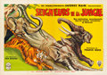 "Movie Posters:Adventure, Fang and Claw (RKO, 1935). French Double Grande (62.5"" X 90.75"")....."