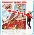 "Movie Posters:James Bond, You Only Live Twice (United Artists, 1967). Six Sheet (78.5"" X81"").. ..."
