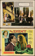 """Movie Posters:Drama, The Enemy and Other Lot (MGM, 1927). Lobby Cards (2) (11"""" X 14"""").. ... (Total: 2 Items)"""