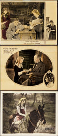 """Movie Posters:Drama, Through the Back Door and Others (United Artists, 1921). LobbyCards (3) (11"""" X 14"""").. ... (Total: 3 Items)"""