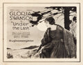"Movie Posters:Drama, Under the Lash (Paramount, 1921). Autographed Half Sheet (22"" X28"").. ..."