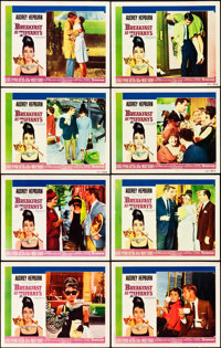 "Breakfast at Tiffany's (Paramount, 1961). Lobby Card Set of 8 (11"" X 14""). ... (Total: 8 Items)"