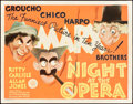 "Movie Posters:Comedy, A Night at the Opera (MGM, 1935). Title Lobby Card (11"" X 14"")....."