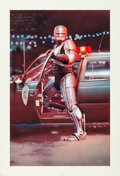 "Movie Posters:Action, RoboCop (Orion, 1987). Full-Bleed Concept Poster Art (20"" X 31"")....."
