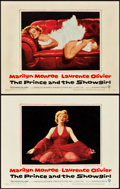 "Movie Posters:Romance, The Prince and the Showgirl (Warner Brothers, 1957). Lobby Cards(2) (11"" X 14"").. ... (Total: 2 Items)"