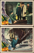 "Movie Posters:Horror, Frankenstein Meets the Wolf Man (Universal, 1943). Lobby Cards (2)(11"" X 14"").. ... (Total: 2 Items)"