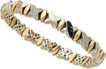Estate Jewelry:Bracelets, Diamond, Enamel, Gold Bracelet, La Nouvelle Bague. ...
