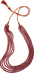 Estate Jewelry:Necklaces, Ruby Necklace. ...