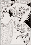 Original Comic Art:Splash Pages, Win Mortimer and Mike Esposito Spidey Super-Stories #20 Page 7 Original Art (Marvel, 1976)....