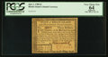 Colonial Notes:Rhode Island, Rhode Island July 2, 1780 $3 PCGS Apparent Very Choice New 64.. ...