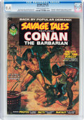Magazines:Superhero, Savage Tales #2 (Marvel, 1973) CGC NM 9.4 Cream to off-whitepages....