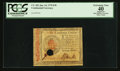 Colonial Notes:Continental Congress Issues, Continental Currency January 14, 1779 $70 PCGS Apparent ExtremelyFine 40.. ...