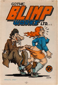 Silver Age (1956-1969):Alternative/Underground, Gothic Blimp Works #2 (East Village Other, 1969) Condition:VF/NM....