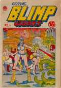 Silver Age (1956-1969):Alternative/Underground, Gothic Blimp Works #4 (East Village Other, 1969) Condition: FN....