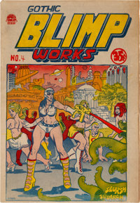 Gothic Blimp Works #4 (East Village Other, 1969) Condition: FN
