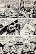 Original Comic Art:Panel Pages, Jack Kirby, Vince Colletta, and Murphy Anderson Superman's Pal,Jimmy Olsen #148 Page 14 Original Art (DC, 1972)....