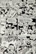 Original Comic Art:Panel Pages, Jack Kirby and Mike Royer Captain Victory and the Galactic Rangers #2 Page 8 Original Art (Pacific, 1982)....