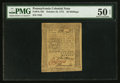 Colonial Notes:Pennsylvania, Pennsylvania October 25, 1775 20s PMG About Uncirculated 50 EPQ.....