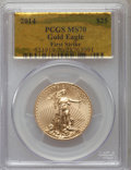 Modern Bullion Coins, 2014 $25 Half-Ounce Gold Eagle, First Strike MS70 PCGS. PCGS Population (980). NGC Census: (0). ...