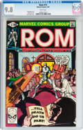 Modern Age (1980-Present):Superhero, Rom #15 (Marvel, 1981) CGC NM/MT 9.8 White pages....