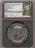 Kennedy Half Dollars, 2014-D 50C High Relief, Clad, 50th Anniversary, First Releases,SP67 NGC. PCGS Population (184/29)....