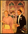 """Movie Posters:Musical, Top Hat (RKO, 1935). Jumbo Lobby Cards (3) (14"""" X 17"""").. ...(Total: 3 Items)"""