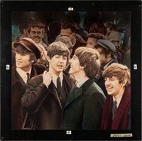 "The Beatles' Rock n' Roll Music Volume 2 (Capitol Records, 1980). Mike Bryan Original Album Cover Art (24"" X 24.5&q..."