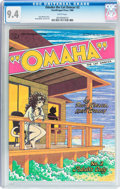 Modern Age (1980-Present):Alternative/Underground, Omaha the Cat Dancer #2 (Kitchen Sink, 1986) CGC NM 9.4 Whitepages....