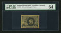 Fractional Currency:Second Issue, Fr. 1232 5¢ Second Issue PMG Choice Uncirculated 64.. ...