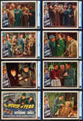 "Movie Posters:Mystery, The House of Fear (Universal, 1944). CGC Graded Lobby Card Set of 8(11"" X 14"").. ... (Total: 8 Items)"