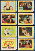 """Movie Posters:Comedy, Some Like It Hot (United Artists, 1959). CGC Graded Lobby Card Setof 8 (11"""" X 14"""").. ... (Total: 8 Items)"""