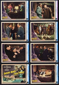 "Movie Posters:Crime, Sherlock Holmes and the Secret Weapon (Universal, 1942). CGC GradedLobby Card Set of 8 (11"" X 14"").. ... (Total: 8 Items)"