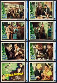 """The Spider Woman (Universal, 1943). CGC Graded Lobby Card Set of 8 (11"""" X 14""""). ... (Total: 8 Items)"""