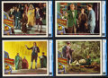 """Movie Posters:Fantasy, Stairway to Heaven (Universal International, 1946). CGC Graded Lobby Cards (4) (11"""" X 14"""").. ... (Total: 4 Items)"""