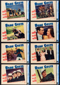 """Movie Posters:Adventure, Beau Geste (Paramount, 1939). CGC Graded Lobby Card Set of 8 (11"""" X 14"""").. ... (Total: 8 Items)"""